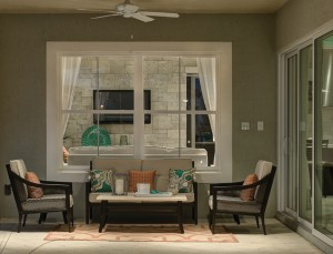 Elegant Earthwise patio door and picture window from Showcase in Houston